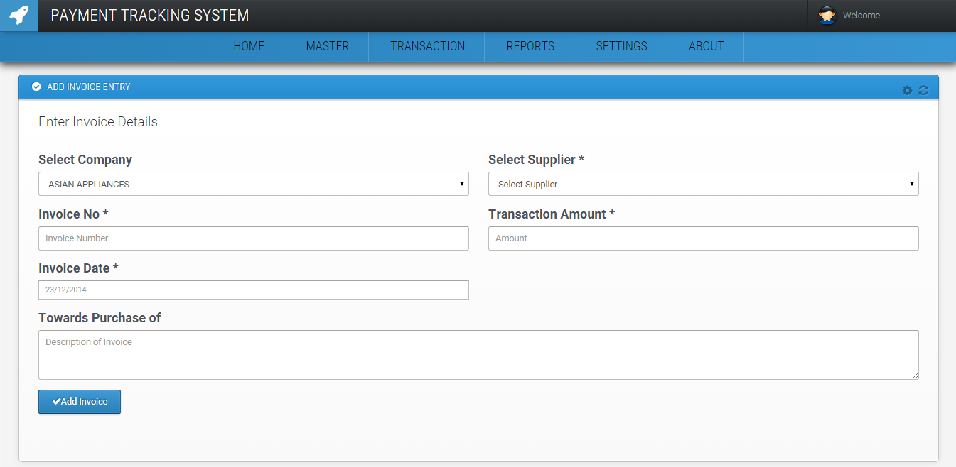 PAYMENT TRACKING SYSTEM