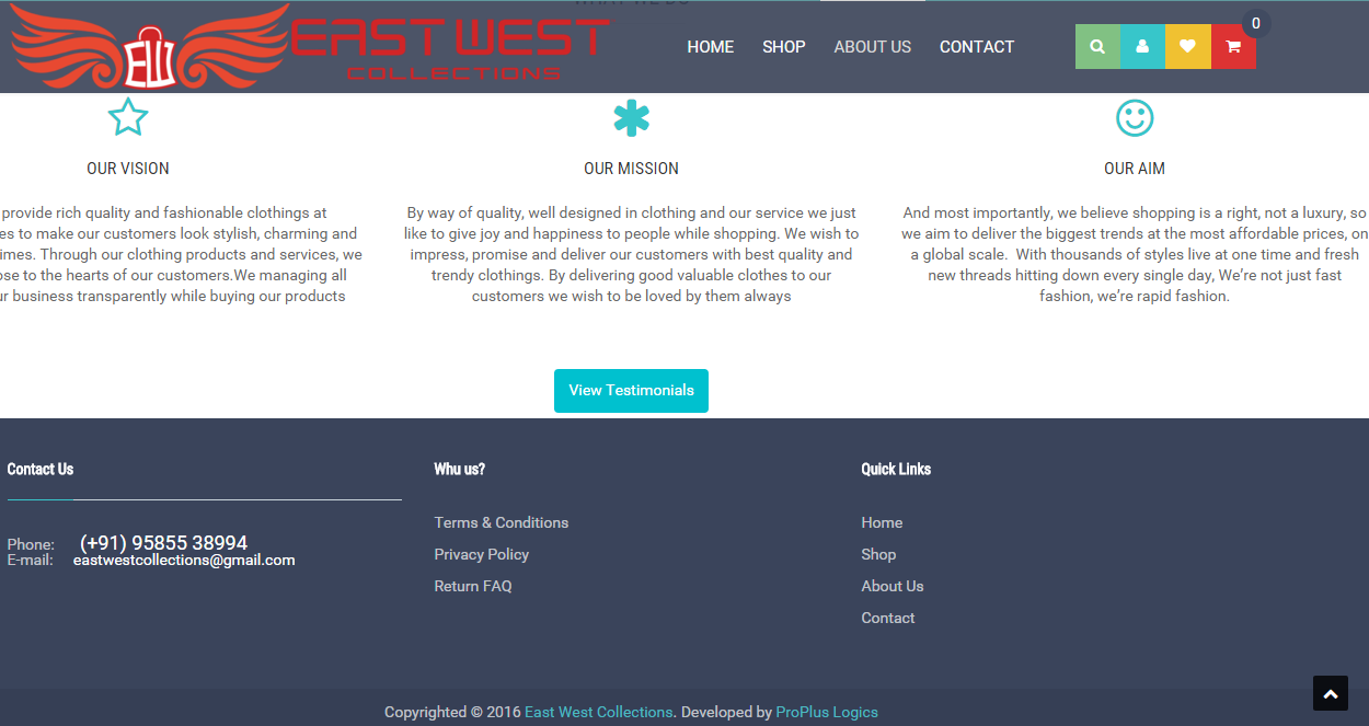 EAST WEST COLLECTIONS