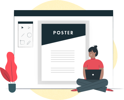 Benefits of choosing ProPlus Logics for Poster designing service- Custom Poster Design Solutions