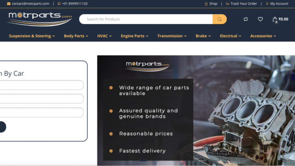 Motrparts | Web Design Company