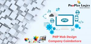 PHP web design company coimbatore