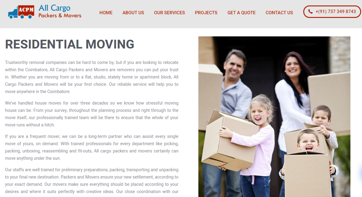 ALL CARGO PACKERS & MOVERS