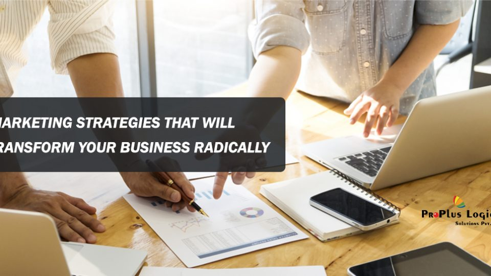 Marketing Strategies that will Transform Your Business Radically